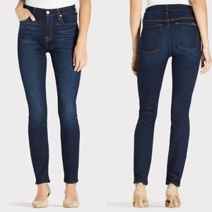 7 For All Mankind b(air) High Waisted Skinny Jeans